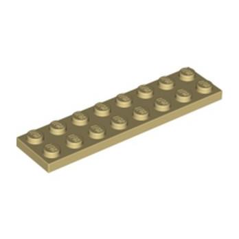 LEGO 4113988 PLATE 2X8 - TAN