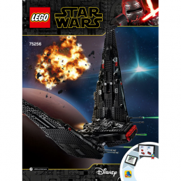 Notice / Instruction Lego Star Wars  75256 notice-instruction-lego-star-wars-75256 ici :