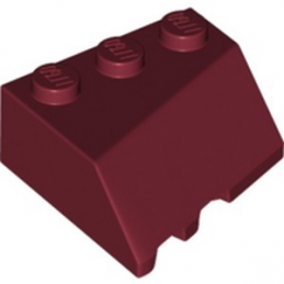 LEGO 6257449 RIGHT ROOF TILE 3X3, DEG. 45/18/45 - NEW DARK RED