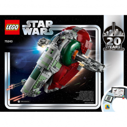 Notice / Instruction Lego Star Wars  75243