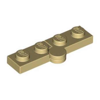 LEGO 4143329 HINGE PLATE 1X2 - BEIGE
