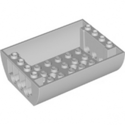 LEGO 6274686 TANK BOTTOM 8X6X2 - MEDIUM STONE GREY
