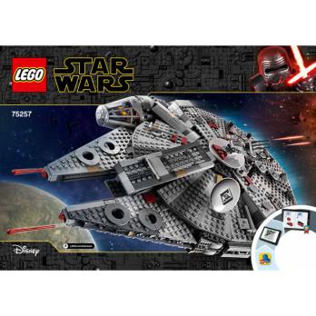 Notice / Instruction Lego Star Wars  75257
