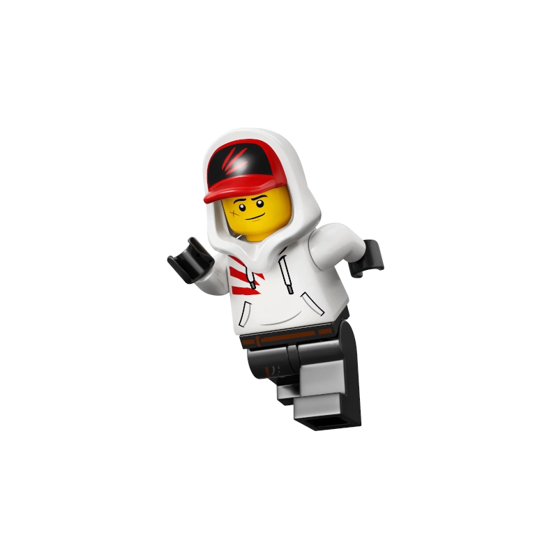Mini Figurine LEGO® Hidden Side - Jack Davids