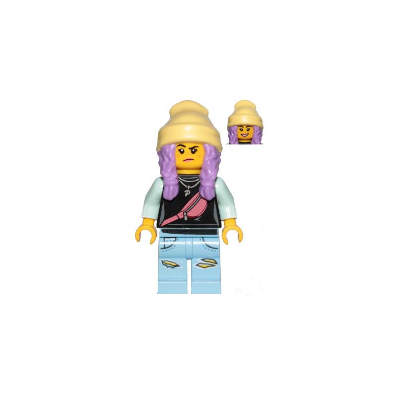 Mini Figurine LEGO® Hidden Side - Parker L. Jackson
