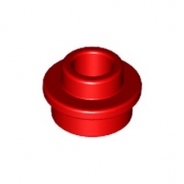 LEGO 6223427 ROND 1X1 + TROU - ROUGE