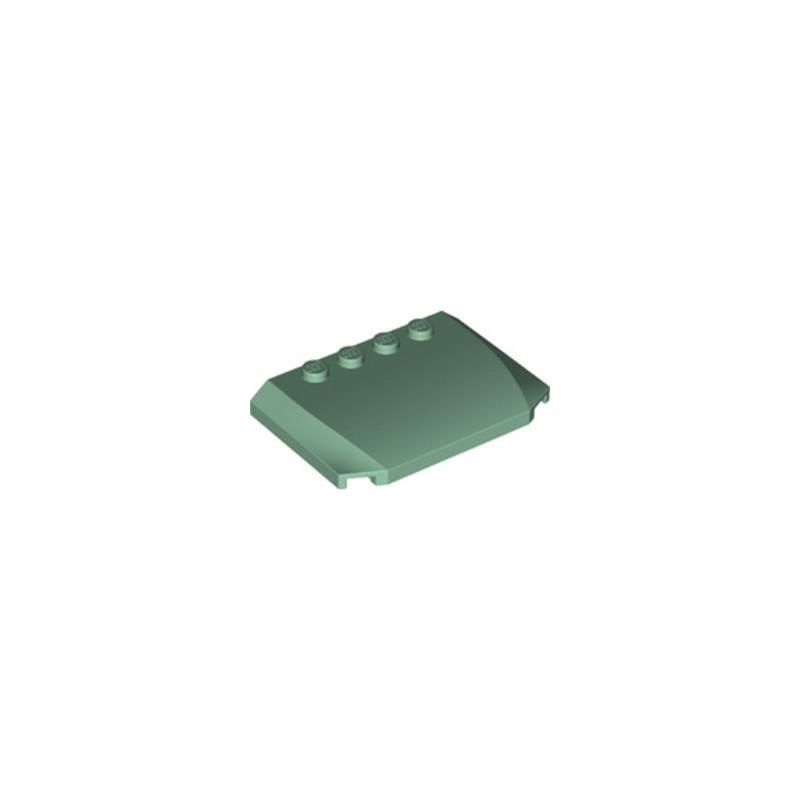 LEGO 6274974 CAPOT 4X6X2/3 - SAND GREEN