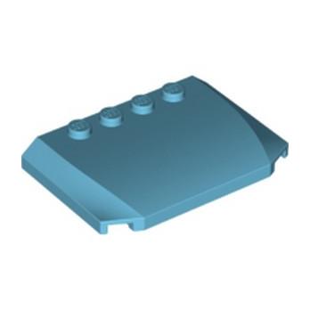 LEGO 6109838  CAPOT 4X6X2/3 - MEDIUM AZUR lego-6109838-capot-4x6x23-medium-azur ici :
