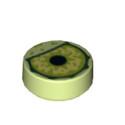 LEGO 6275891 OEIL 1X1 - SPRING YELLOWISH GREEN