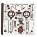 Stickers / Autocollant Lego Hidden Side - 70419