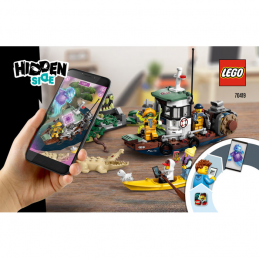 Notice / Instruction Lego Hidden Side 70419