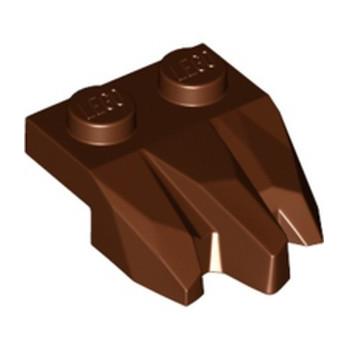 LEGO 6251403 PLATE 2X3, ROCK - REDDISH BROWN lego-6251403-plate-2x3-rock-reddish-brown ici :