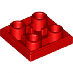 LEGO 6013868 PLATE LISSE 2x2 INVERSE - ROUGE lego-6013868-plate-lisse-2x2-inverse-rouge ici :