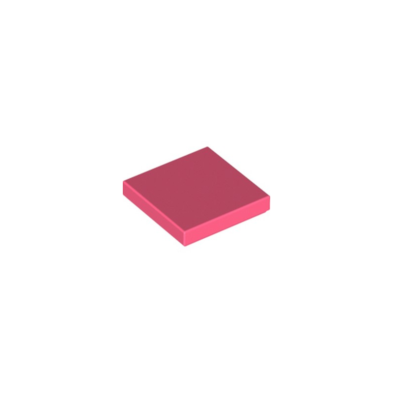 LEGO 6275802 PLATE LISSE 2X2 - CORAL