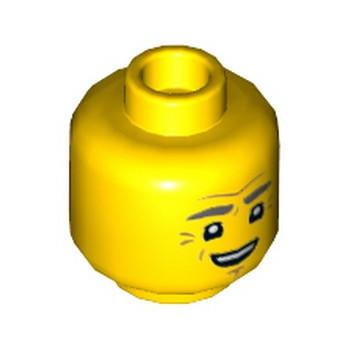LEGO 6279126 TÊTE HOMME