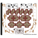 Stickers / Autocollant Lego Hidden Side - 70425-2