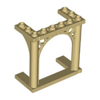 LEGO 6100579 CLOISON ARCHE 6X3X5 - BEIGE lego-6267172-cloison-arche-6x3x5-beige ici :