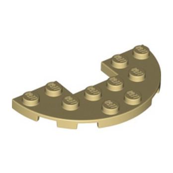 LEGO 6099893 1/2 ROND  3X6 - BEIGE