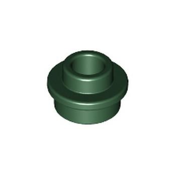LEGO 6230571 ROND 1X1 AVEC TROU - EARTH GREEN