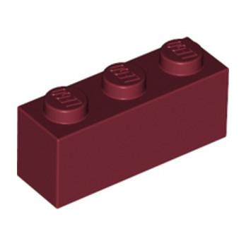 LEGO 6264025 BRIQUE 1X3 - NEW DARK RED