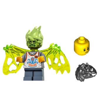 Mini Figurine LEGO® Hidden Side - Wade Hanté + Tête et cheveux