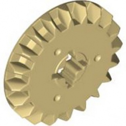 LEGO 6031962 BEVEL GEAR Z20 Ø21 - TAN