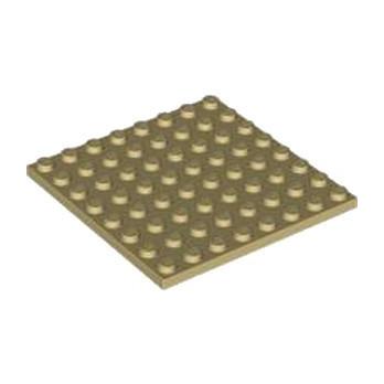 LEGO 4178317 PLATE 8X8 - BEIGE lego-4624223-plate-8x8-beige ici :