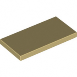 LEGO 4610209 PLATE LISSE 2X4 - BEIGE