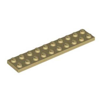LEGO 383205  PLATE 2X10 - BEIGE