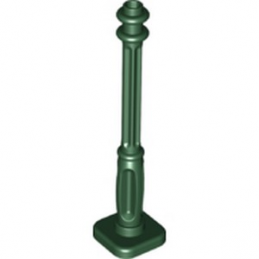 LEGO 6289117 PIED LAMPADAIRE 2x2x7 - EARTH GREEN