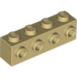 LEGO 4201062 BRIQUE 1X4 W. 4 KNOBS - BEIGE
