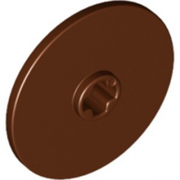 LEGO 6288632 DISQUE Ø24  - REDDISH BROWN
