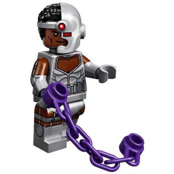 Mini Figurine LEGO® Série DC Super Heroes - Cyborg