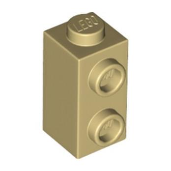 LEGO 6232135 BRIQUE 1X1X1 2/3 - BEIGE lego-6232135-brique-1x1x1-23-beige ici :