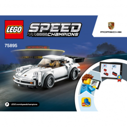 Notice / Instruction Lego Speed Champions 75895