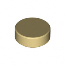 LEGO 6139649 PLATE LISSE ROND 1x1 - BEIGE lego-6284573-plate-lisse-rond-1x1-beige ici :