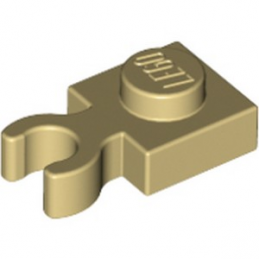 LEGO 6029889 - PLATE 1X1 W. HOLDER - Beige