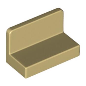 LEGO 486505  MUR / CLOISON 1X2X1 - BEIGE lego-6146221-mur-cloison-1x2x1-beige ici :