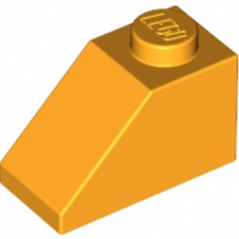 LEGO 6023157 TUILE 1X2/45° - FL. YELL-ORA -lego-6023157-tuile-1x245-flame-yellowish-orange ici :