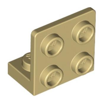 LEGO 6330148 ANGULAR PLATE 1.5 BOT. 1X2 2/2 - TAN