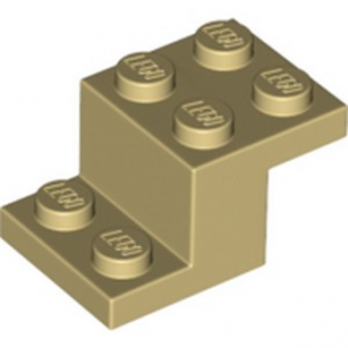 LEGO 6194847 BRIQUE PLATE 2X3X1 1/3 - BEIGE