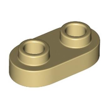 LEGO 6212758 PLATE 1X2, ROND - BEIGE lego-6212758-plate-1x2-rond-beige ici :