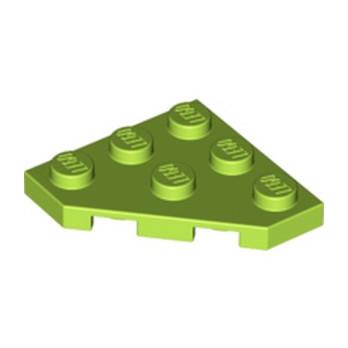 LEGO 6264057 PLATE 45 DEG. 3X3 - BRIGHT YELLOWISH GREEN lego-6264057-plate-45-deg-3x3-bright-yellowish-green ici :