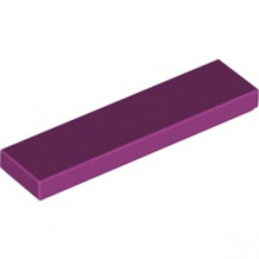 LEGO 4621180  PLATE LISSE 1X4 - MAGENTA