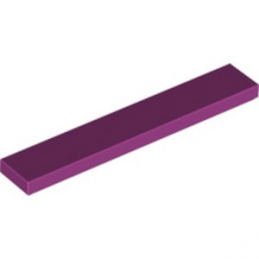 LEGO 6102821 PLATE LISSE 1X6 - MAGENTA
