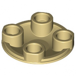 LEGO 265405 ROND LISSE 2X2 INV - BEIGE