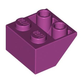 LEGO 6172860 TUILE 2X2/45 INV. - MAGENTA