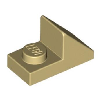 LEGO 4624988 TUILE 1X2 45° W 1/3 PLATE - BEIGE lego-6069165-tuile-1x2-45-w-13-plate-beige ici :