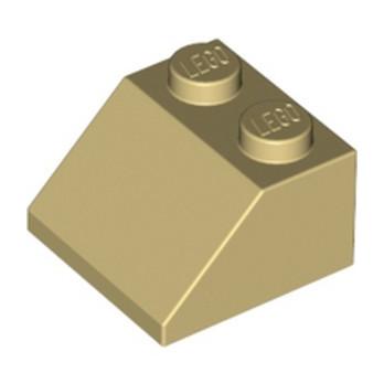 LEGO 303905 TUILE 2X2/45° - BEIGE
