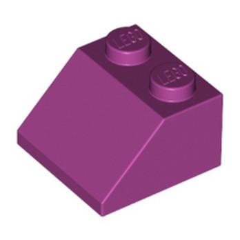 LEGO 4550362 TUILE  2X2/45° - MAGENTA lego-4550362-tuile-2x245-magenta ici :